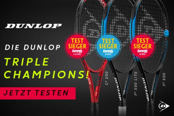 Die DUNLOP Triple Champions